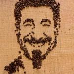 Знаменитости из кофейных зерен