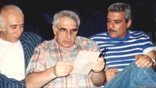 Вагрич Бахчанян, Евгений Рейн и Сергей Довлатов