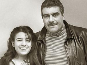 Сергей Довлатов с дочкой