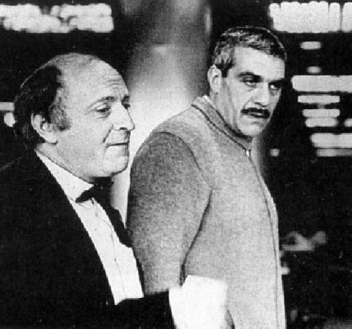 Иосиф Бродский и Сергей Довлатов