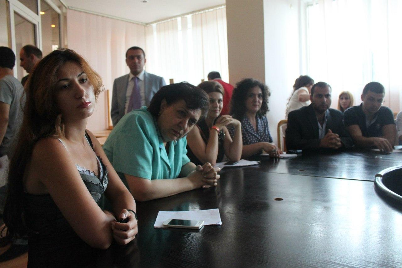 На официальном приеме у Грануш Акопян - министра Диаспоры РА