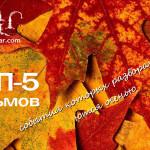 ТОП-5 осенних фильмов