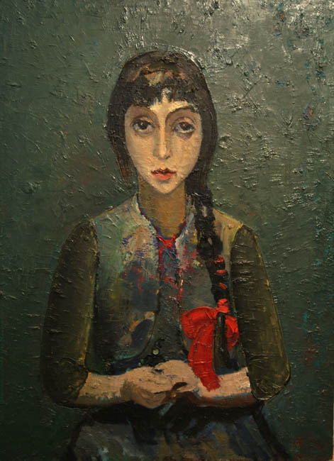 Портрет дочери Лусине