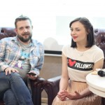 PUBLIC TALK | Видеоинтервью с Антоном Белецким и Машей Лединой