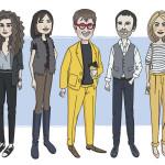 Спецпроект «Рисованные» — иллюстрированные портреты знаменитостей