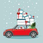 Рождественский кампейн Helen Marlen | Иллюстрация Lilit Sarkisian