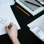 Расписание иллюстрационных ланчей. Цветы в конвертах c Анной Ремарчук